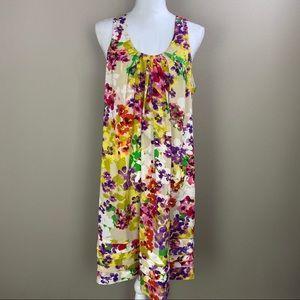 Annalee + Hope Floral Loose Sleeveless Dress 14